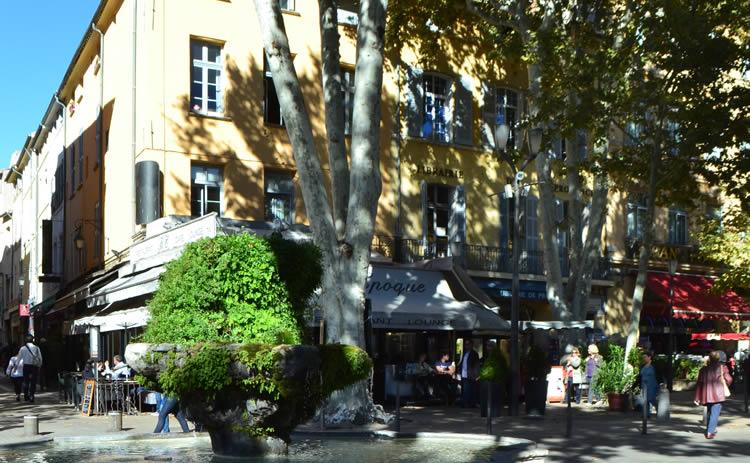 Aix en Provence town