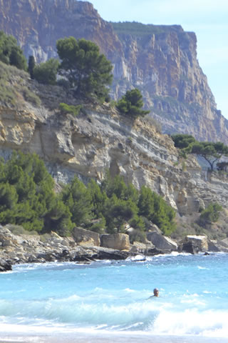 Cliffs at Cassis, Provence